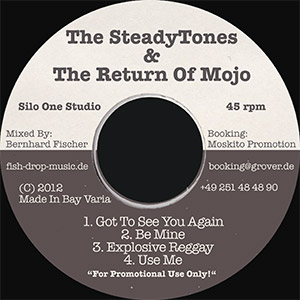 The Steadytones Return of Mojo front